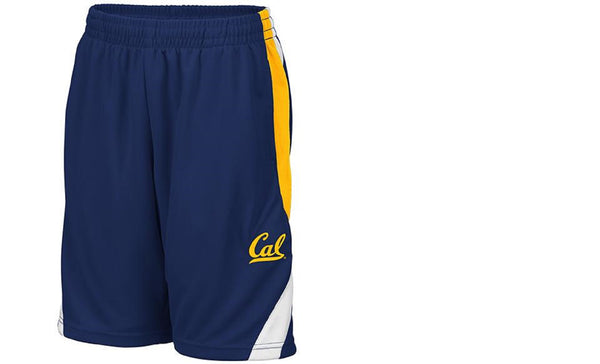 U.C. Berkeley Cal Bears Youth Basketball Short-Navy-Shop College Wear