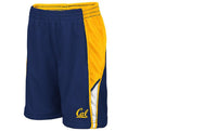 U.C. Berkeley Cal Bears Toddler Mesh basketball short-Navy-Shop College Wear