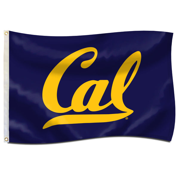 UC Berkeley Cal Embroidered Nylomax 2' By 3' Flag-Shop College Wear