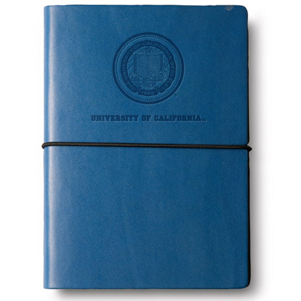 University Of California Berkeley Italian Leather Large journal-Shop College Wear
