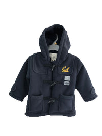 U.C. Berkeley Cal Polar fleece Sherpa kids jacket- Navy-Shop College Wear