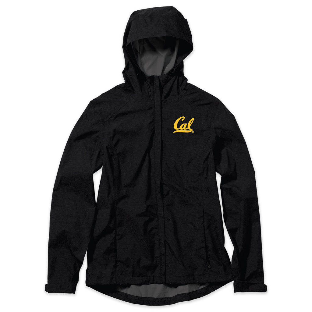 UC Berkeley Cal Embroidered Women's Rain Jacket-Shop College Wear