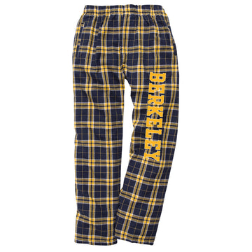 UC Berkeley Cal Unisex Flannel Pants