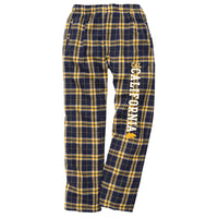 UC Berkeley Cal Men's Classic Flannel Pants - Navy-Shop College Wear
