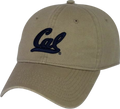 U.C. Berkeley Cal Bears adjustable hat-Khaki