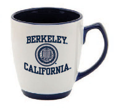 UC Berkeley Cal 13 Oz. Coffee Mug- WHITE-Shop College Wear