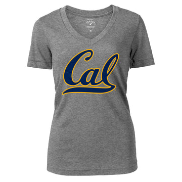 University Of California Berkeley  Cal League Women's Tri Blend T- Shirt