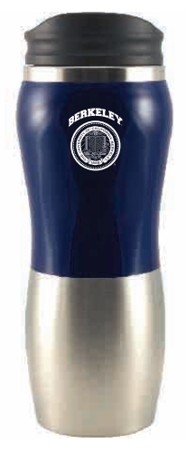 UC Berkeley Cal Fusion Coffee Tumbler Stainlessteel14 Oz - Navy-Shop College Wear