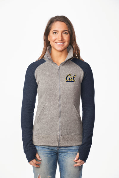 UC Berkeley Cal Embroidered Women's Sweatshirt - Navy-Shop College Wear