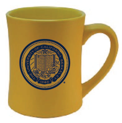 University Of California Berkeley Cal 16 oz. Matt Mug-Gold-Shop College Wear