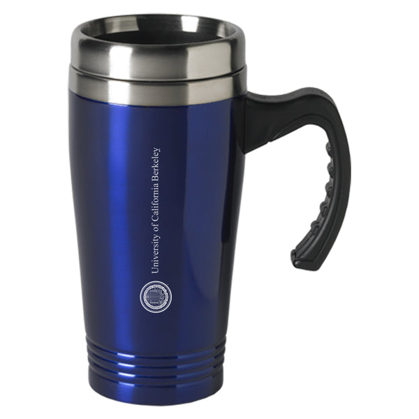 University Of California Berkeley Cal Laser Engraved 16 Oz. Stainless Steel Travel Mug-Shop College Wear