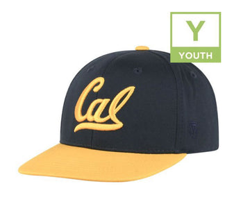University Of California Berkeley Golden Bears Youth Snap Back Hat-Navy