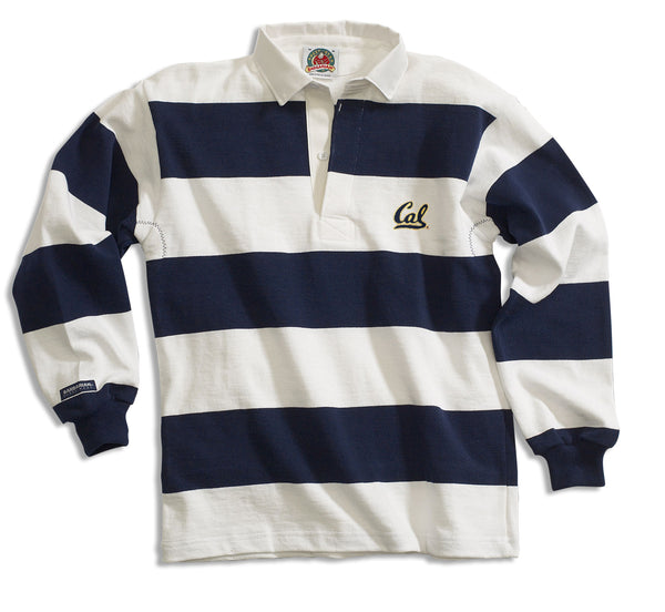 University of California Berkeley Cal Rugby Shirt-White-Shop College Wear