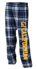 UC Berkeley Cal Men's Flannel Pants - Navy