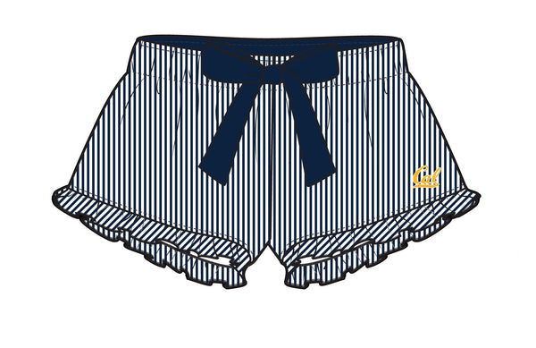 U.C. Berkeley Cal Boxer Craft women's short-Navy-Shop College Wear