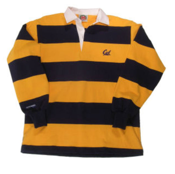 University Of California Berkeley Cal Rugby Shirt-Navy-Shop College Wear