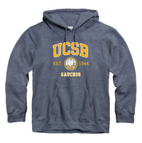 University of California Santa Barbara UCSB Gauchos hoodie sweatshirt-Navy-Shop College Wear
