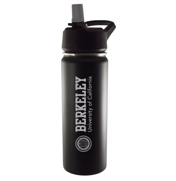 University of California Berkeley Cal 20 Oz vacuum tumbler-black