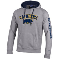 UC Berkeley California Golden Bears Champion Men's Applique Sweatshirt-Gray-Shop College Wear