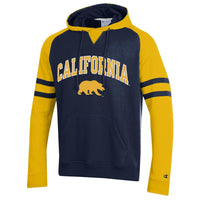 U.C. Berkeley Cal Bears Champion embroidered hoodie sweatshirt-Navy-Shop College Wear