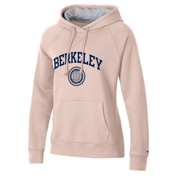U.C. Berkeley Cal Champion Rochester fleece hoodie sweatshirt-Pink-Shop College Wear