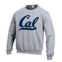 U.C. Berkeley Cal Bears Champion crew-Neck sweatshirt-Gray-Shop College Wear