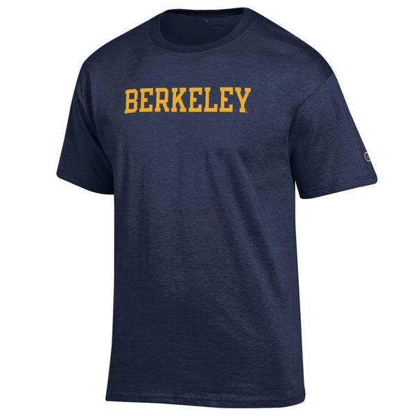 U.C. Berkeley Cal Men's Champion T-Shirt-Navy-Shop College Wear
