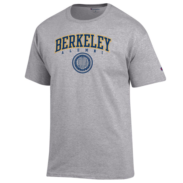 UC Berkeley Alumni Champion Men's T- Shirt-Gray-Shop College Wear