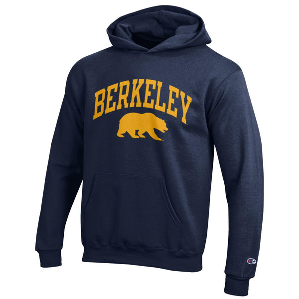 UC Berkeley Cal Champion Youth Sweatshirt- Navy-Shop College Wear