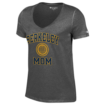 UC Berkeley Cal Mom Champion T-Shirt-Charcoal