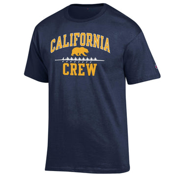 UC Berkeley Golden Bears Champion Men's Crew T-Shirt-Navy