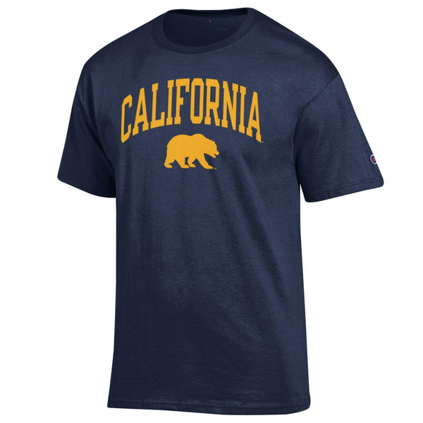 UC Berkeley California Golden Bears T- shirt- Navy-Shop College Wear
