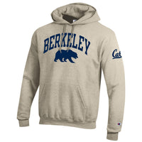 U.C. Berkeley Cal Champion hoodie sweatshirt-Oatmeal-Shop College Wear