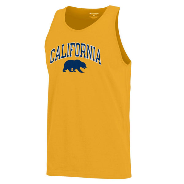 UC Berkeley California Golden Bears Men's Tank Top-Gold-Shop College Wear