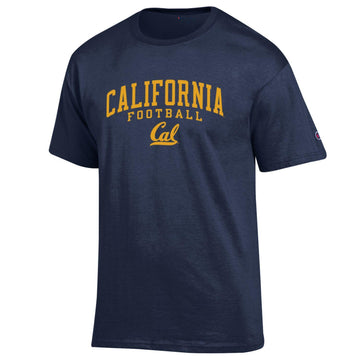 UC Berkeley Golden Bears Champion Men's Cal Football T-Shirt-Navy