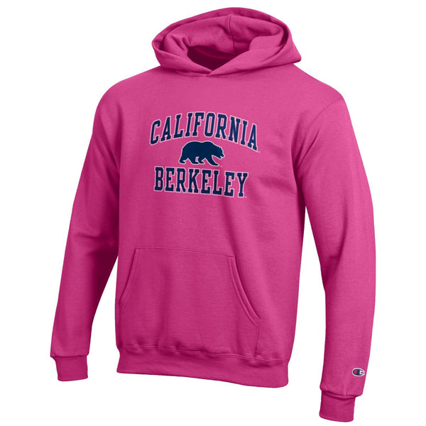 UC Berkeley Cal Champion Youth Sweatshirt-Pink-Shop College Wear