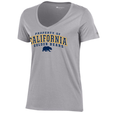 UC Berkeley Cal Champion Women's T-Shirt-Gray