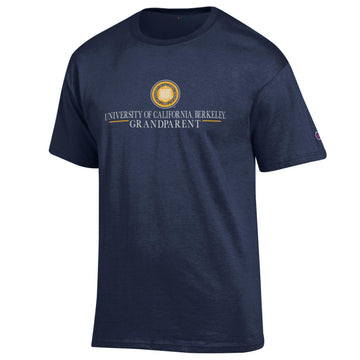UC Berkeley Cal Grandparents Champion T-Shirt - Navy