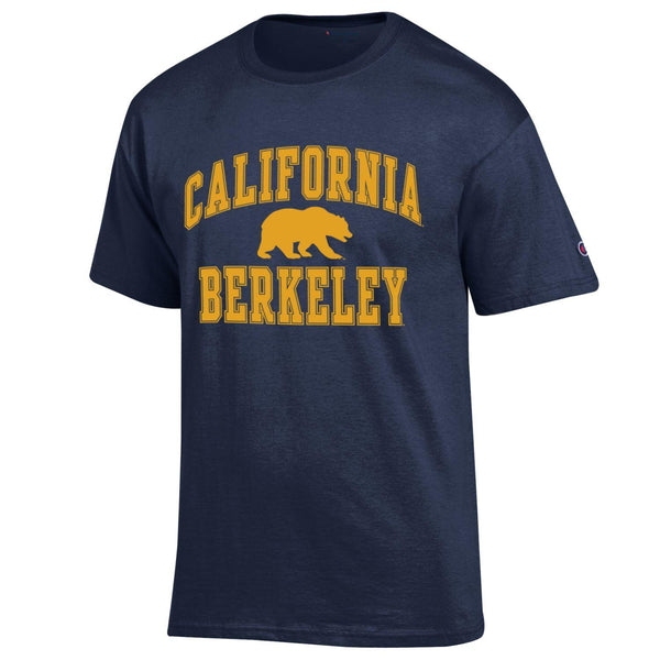 U.C. Berkeley Cal Golden Bears Champion men's T-Shirt-Navy-Shop College Wear