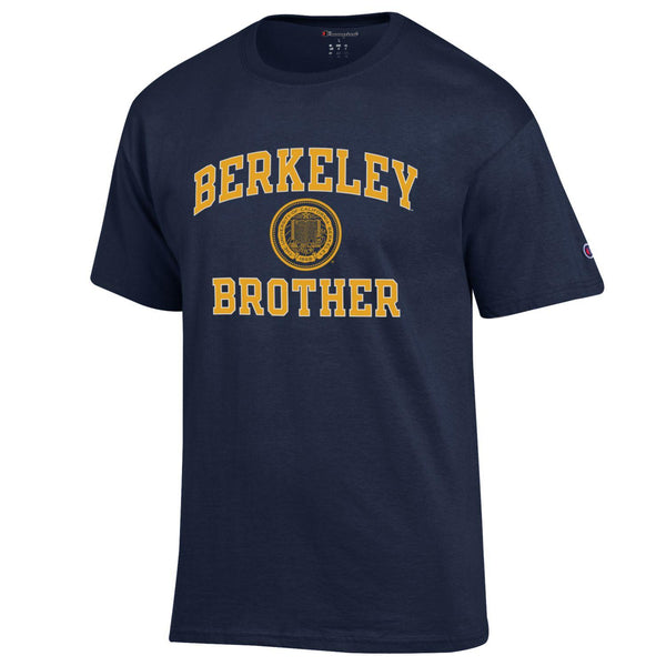 U.C. Berkeley Cal brother Champion T-Shirt-Navy-Shop College Wear