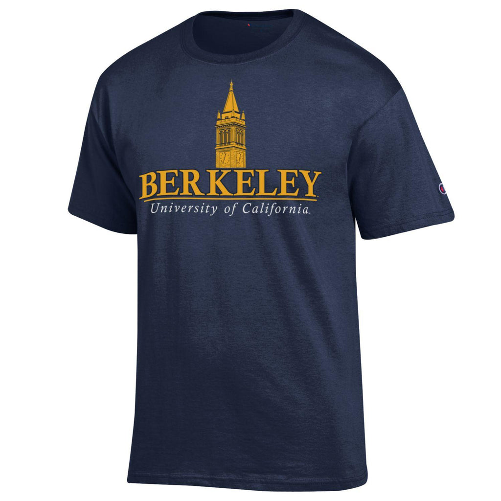 UC Berkeley Cal Champion Campanile Tower T-Shirt -Navy-Shop College Wear