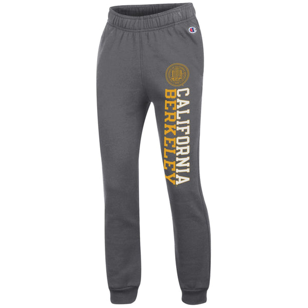 University of California Berkeley Youth Jogger pants-Charcoal-Shop College Wear
