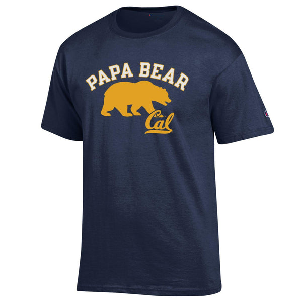 U.C. Berkeley Cal Bears Dad T-Shirt-Navy-Shop College Wear