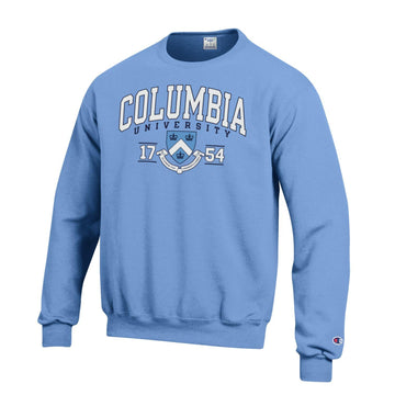 Columbia University  Lions  Men's Sweatshirt-Blue