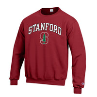 Stanford University Arch & Tree Men's Champion Sweatshirt-Cardinal-Shop College Wear