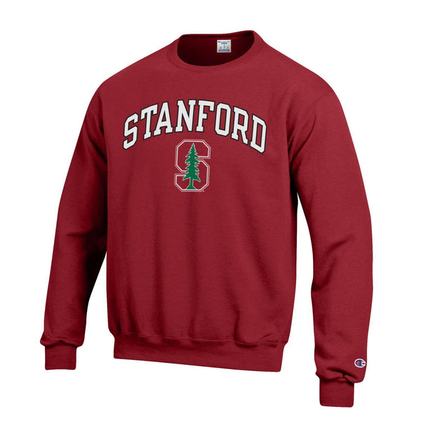 Stanford University Men's Champion Sweatshirt-Cardinal-Shop College Wear
