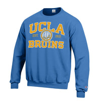 University Of California Los Angeles UCLA Bruins Crew-Neck Sweatshirt-Blue-Shop College Wear