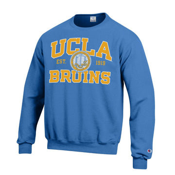 University Of California Los Angeles UCLA Bruins Crew-Neck Sweatshirt-Blue