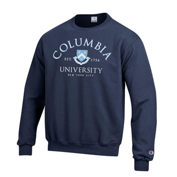 Columbia Lions Men's Crew Neck Sweatshirt - Navy