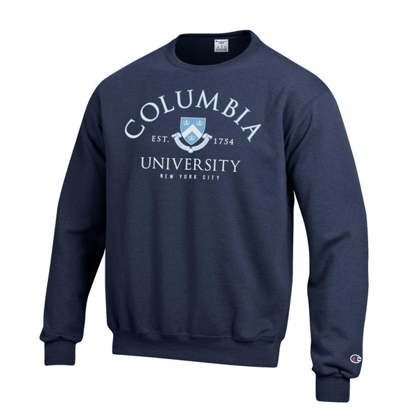 Columbia Lions Men's Crew Neck Sweatshirt - Navy-Shop College Wear